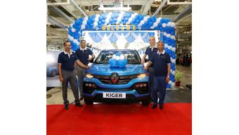 Renault Kiger mass production begins at brand's Chennai plant