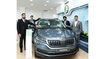 Skoda India inaugurates a new facility in Jammu