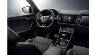 2019 Skoda Kodiaq RS interiors revealed