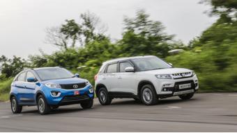 Tata Nexon diesel MT vs Maruti Suzuki Vitara Brezza diesel MT