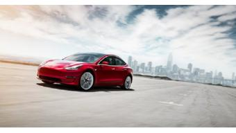 Tesla introduces Model 3 with mid-range battery