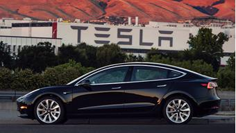 First lot of Tesla Model 3 cars delivered today