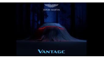 New-generation Aston Martin Vantage teased