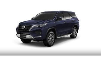 New Toyota Fortuner and Legender gather over 5,000 bookings