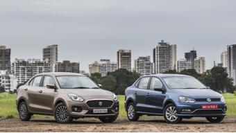 Maruti Suzuki Dzire vs Volkswagen Ameo