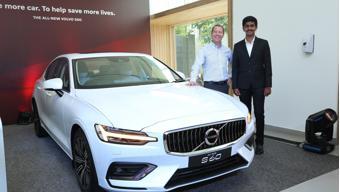 Volvo inaugurates a dealership in Chennai