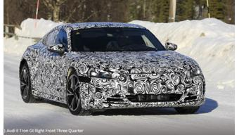Upcoming Audi E-Tron  GT