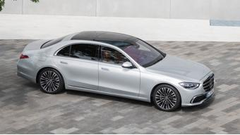 Upcoming Mercedes-Benz  New S-Class