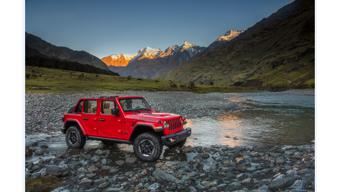 Upcoming Jeep  Wrangler