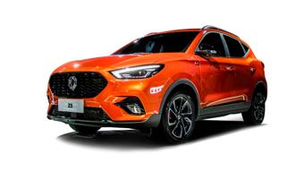 Upcoming MG  ZS