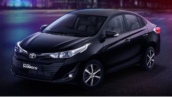 Toyota Yaris Black Image