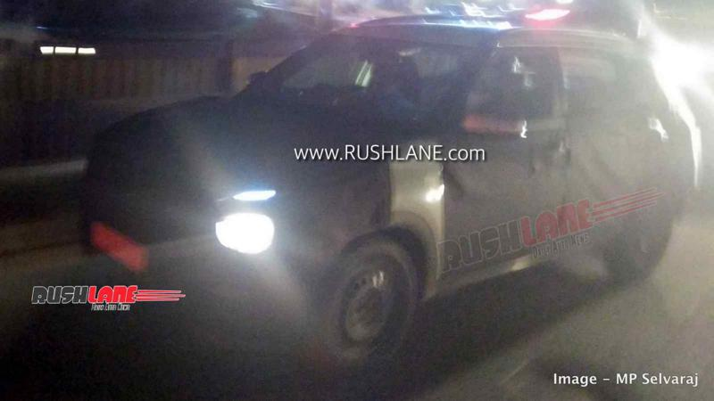 Next-gen Hyundai Creta continues testing, LED headlamps and tail lights revealed