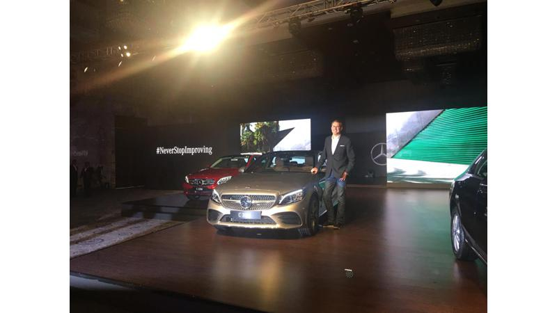 Mercedes Benz launches 2018 C-Class in India at Rs 40 lakhs