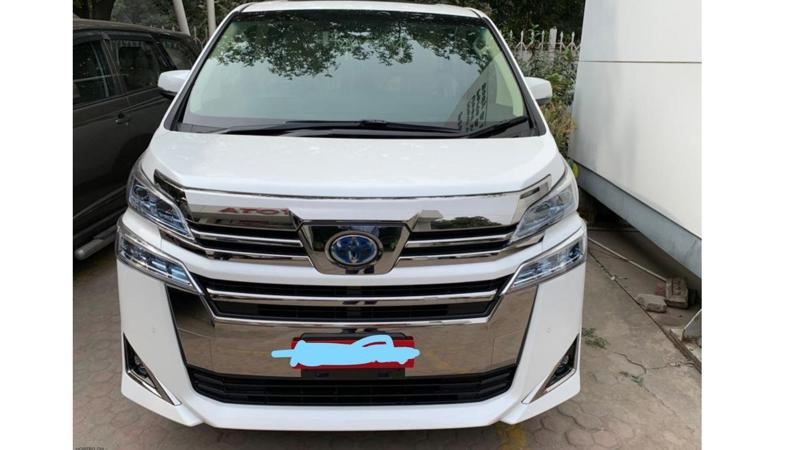 Toyota Vellfire arrives at dealerships ahead of launch