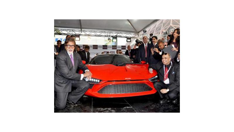 Auto Expo 2012: DC Designs Avanti supercar receives overwhelming response at auto expo 2012
