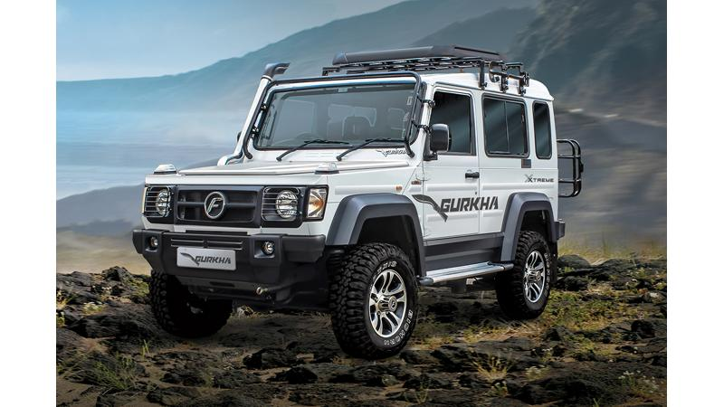 Force Gurkha Xtreme launched in India at Rs 12.99 lakhs