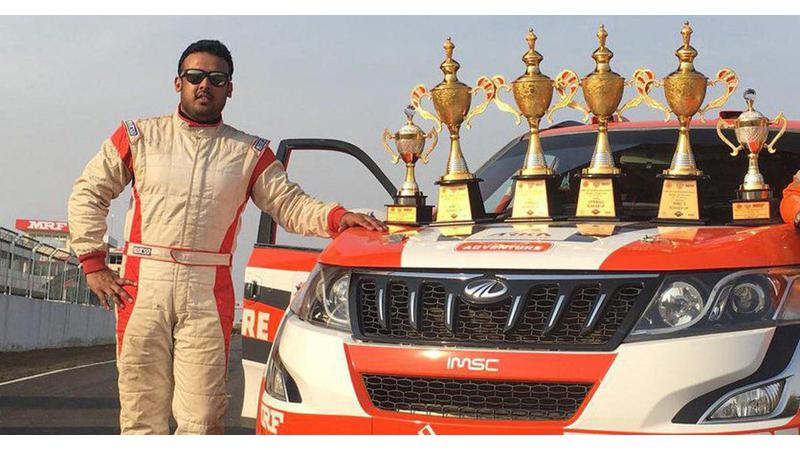Amittrajit Ghosh to soon be the first Indian to compete in FIA European Rally Championship