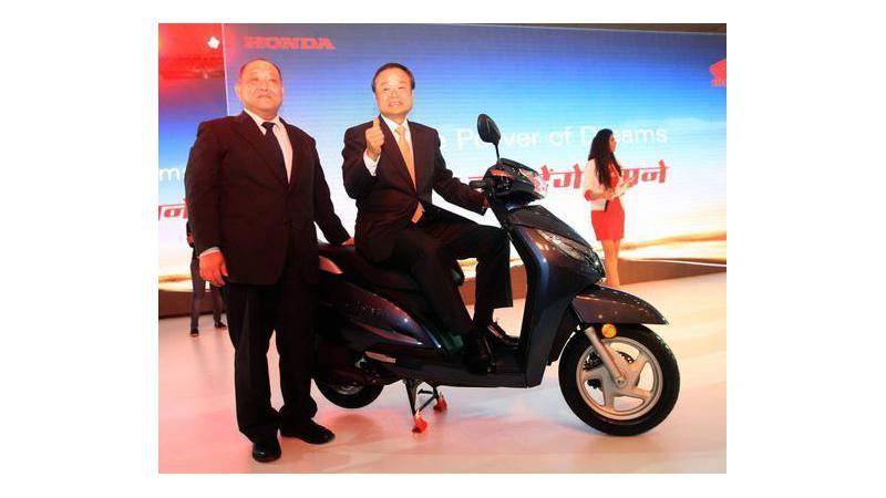 Honda showcases Activa 125 at the Auto Expo 2014