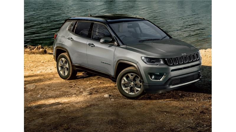 Jeep launches Compass diesel automatic variants; prices begin at Rs 21.96 lakhs