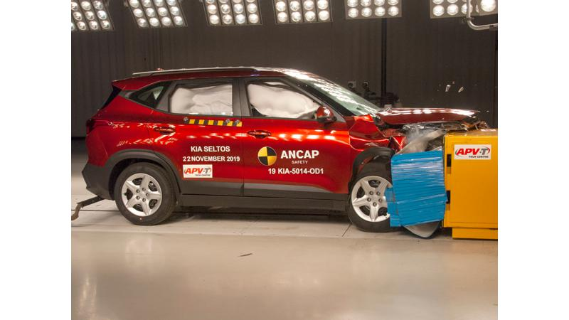 Kia Seltos achieves 5-star rating in ANCAP crash test