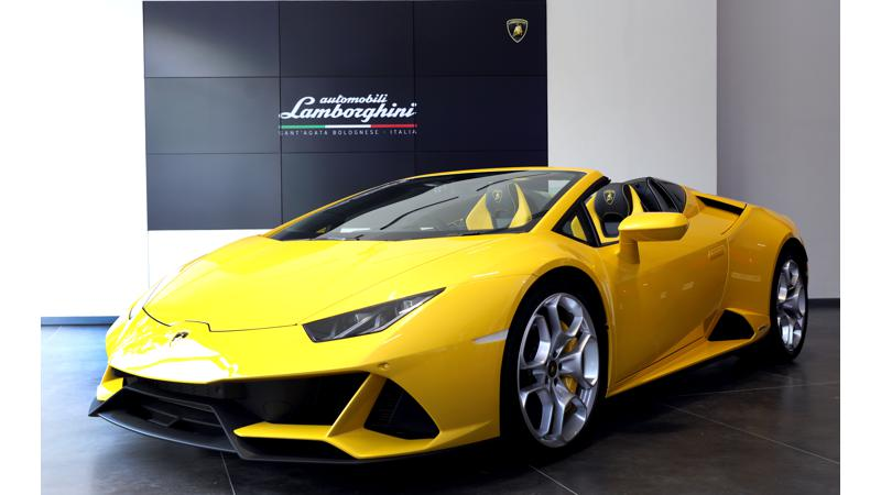 Lamborghini Huracan Evo Spyder launched in India at Rs 4.09 crores