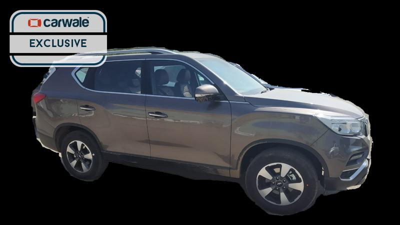 Mahindra Alturas G4 spied ahead of next week's launch
