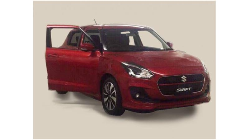 All new Maruti Swift spied again
