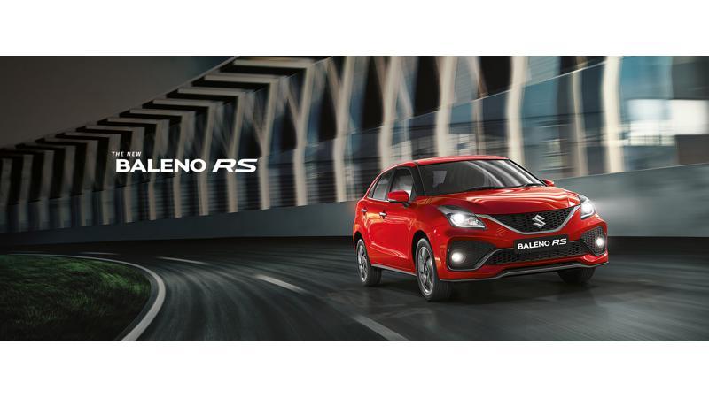 Maruti Suzuki Baleno RS facelift revealed