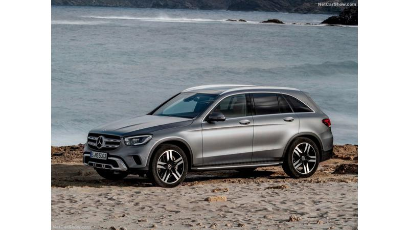 Mercedes-Benz GLC facelift India launch on 3 December