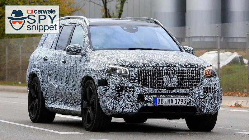 Mercedes-Benz GLS Maybach spied on test in Germany