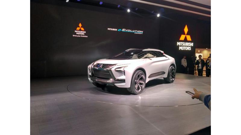 Tokyo Motor Show 2017: Mitsubishi e-Evolution Concept goes all-electric