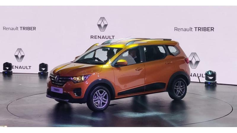 Renault Triber bookings to start on 17 August