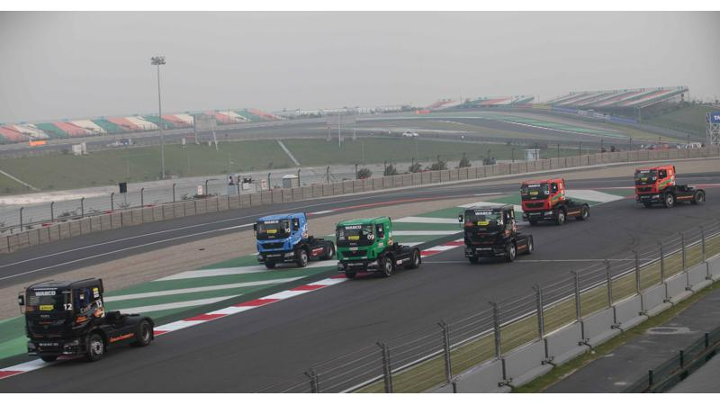 Stuart Oliver emerges first winner of the T1 Prima Truck Racing Championship