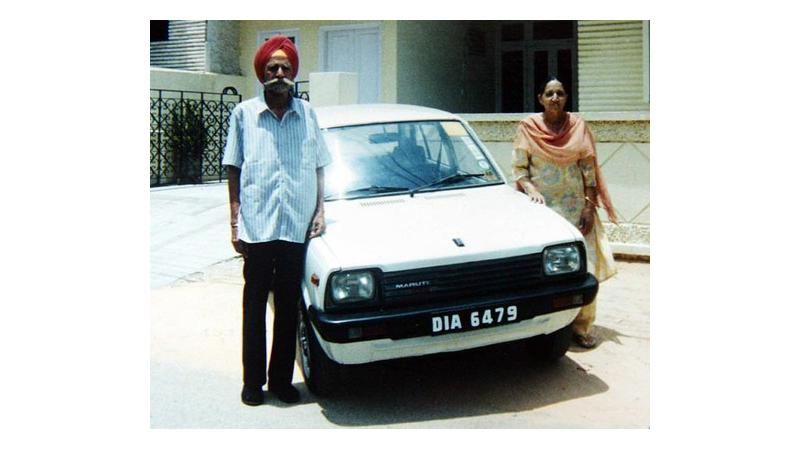 The need for preserving India's first ever Maruti 800