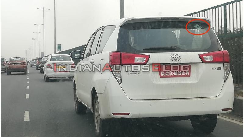 Toyota begins testing Innova Crysta CNG variant