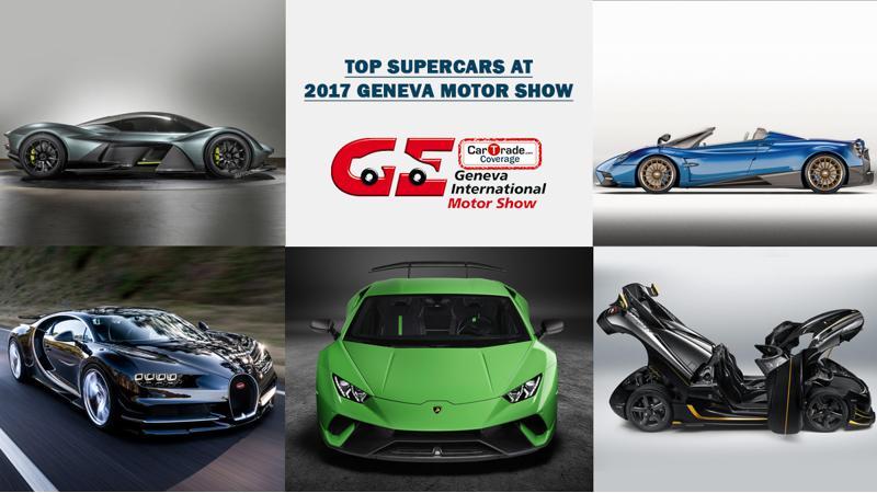 Top Supercars at Geneva 2017