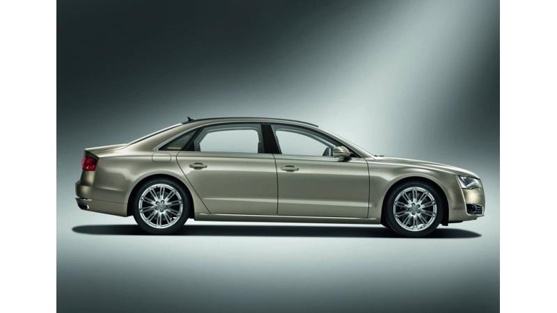 Audi unveils A8L in India