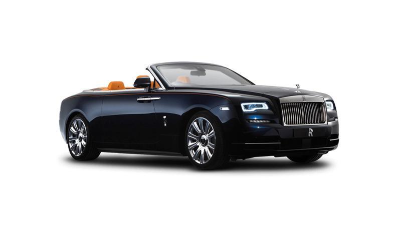 Rolls Royce Dawn Images