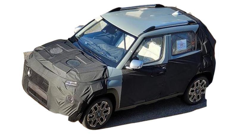 Hyundai AX1 micro-SUV Photos