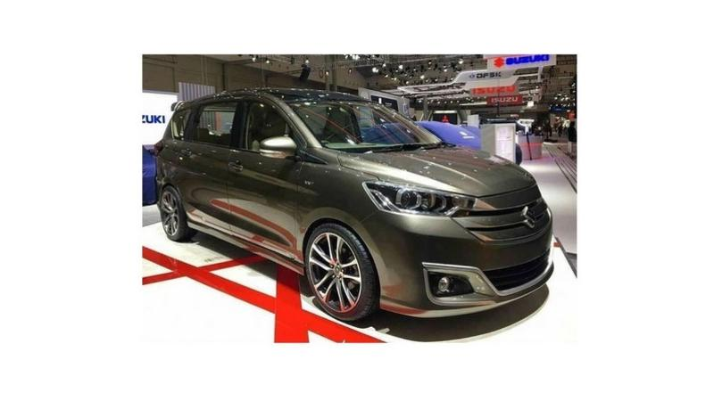 Maruti Suzuki Ertiga concept showcased at GIIAS 2019