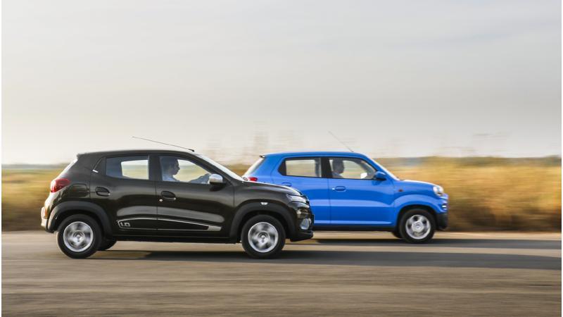 Maruti Suzuki S-Presso AMT vs Renault Kwid AMT real world fuel efficiency figures revealed