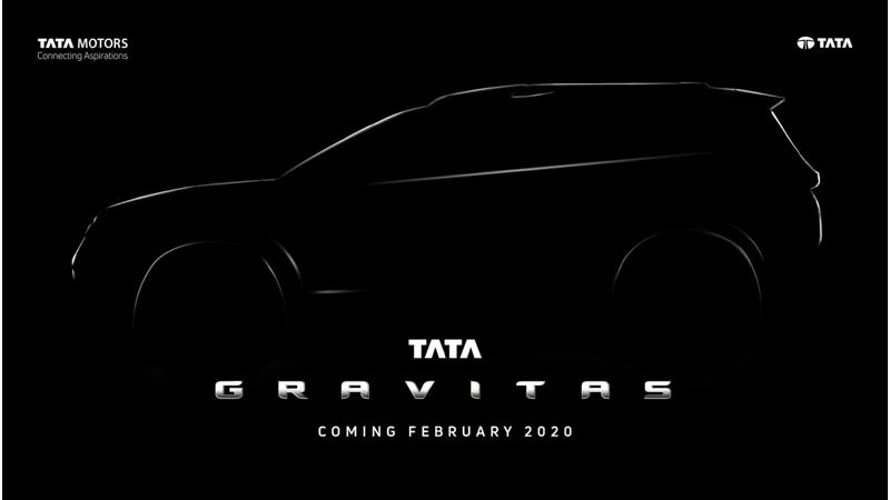Tata Harrier based seven-seater SUV christened Gravitas, to be launched in February 2020