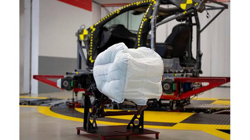 Honda to introduce front airbag technology with three inflatable elements
