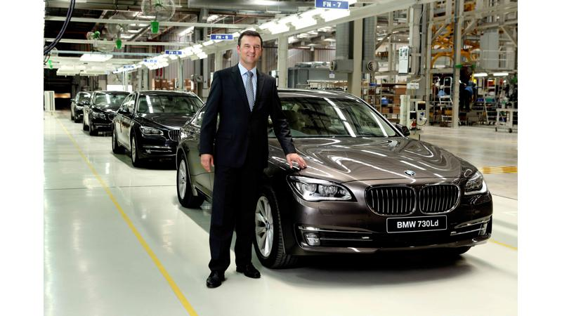 Locally assembled BMW 7 Series rolls out from Chennai plant