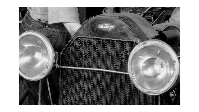 Chevrolet's bowtie marks the 100th anniversary this year; origin still unknown