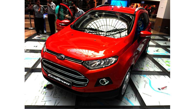 Ford EcoSport: A first hand description of the vehicle