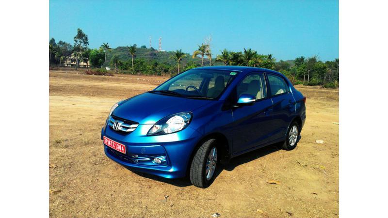 Diesel models contribute 80 per cent of total Honda Amaze sales