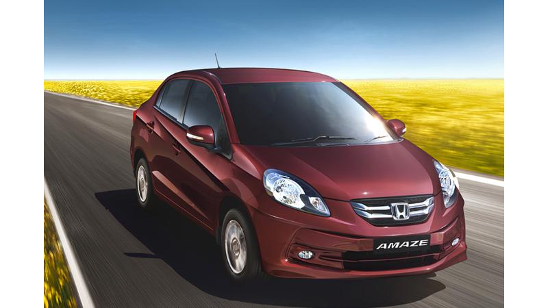 Honda Amaze reported 22,000 bookings in just a couple of months