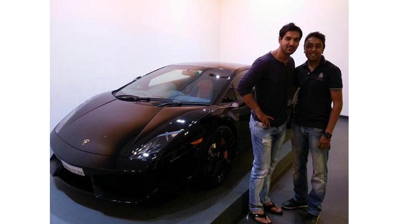 Lamborghini Gallardo: John Abraham's latest car