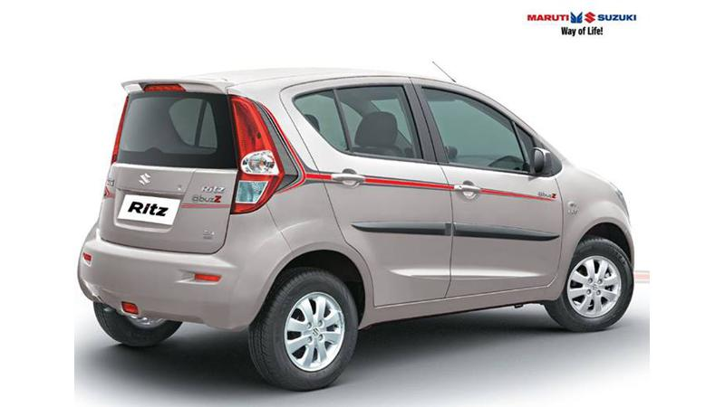 Maruti Suzuki Ritz is now offered in @buzZ trim